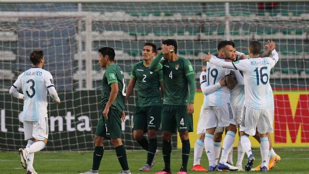 VIDEO) ¡Ganó Argentina! Importante victoria de la selección, ante Bolivia,  en La Paz | Catamarca Online