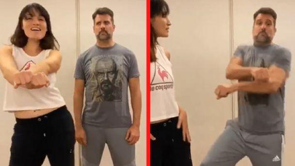 """VIDEO) José María Listorti mostró su genial """"clase de baile"""" con su esposa    Catamarca Online"""